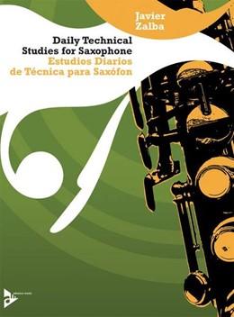 Abbildung von Zalba   Daily Technical Studies for Saxophone     Estudios Diarios de Técnica pa...