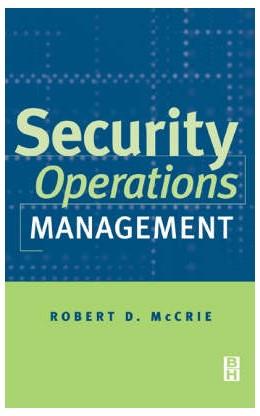 Abbildung von McCrie | Security Operations Management | 2001
