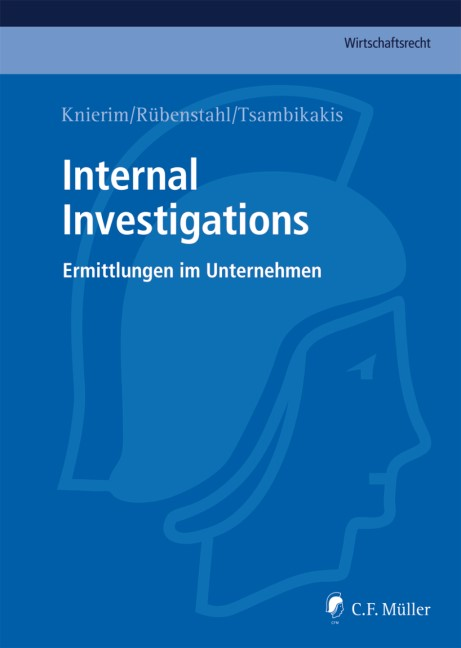 Internal Investigations, 2012 | Buch (Cover)