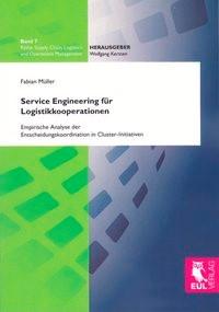 Service Engineering für Logistikkooperationen   Müller   1. Auflage 2012, 2012   Buch (Cover)