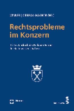 Abbildung von Winner / Cierpial-Magnor   Rechtsprobleme im Konzern   1. Auflage 2012   2012   Drittes Jahrbuch des Krakauer ...