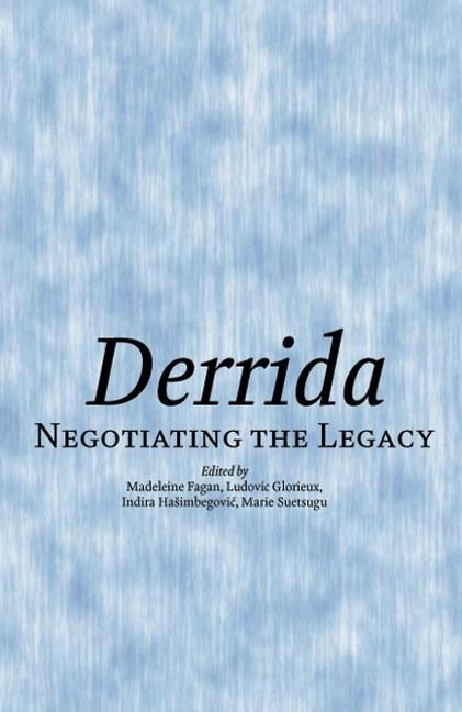 Abbildung von Fagan / Glorieux / Hasimbegovic / Suetsugu | Derrida | 2007