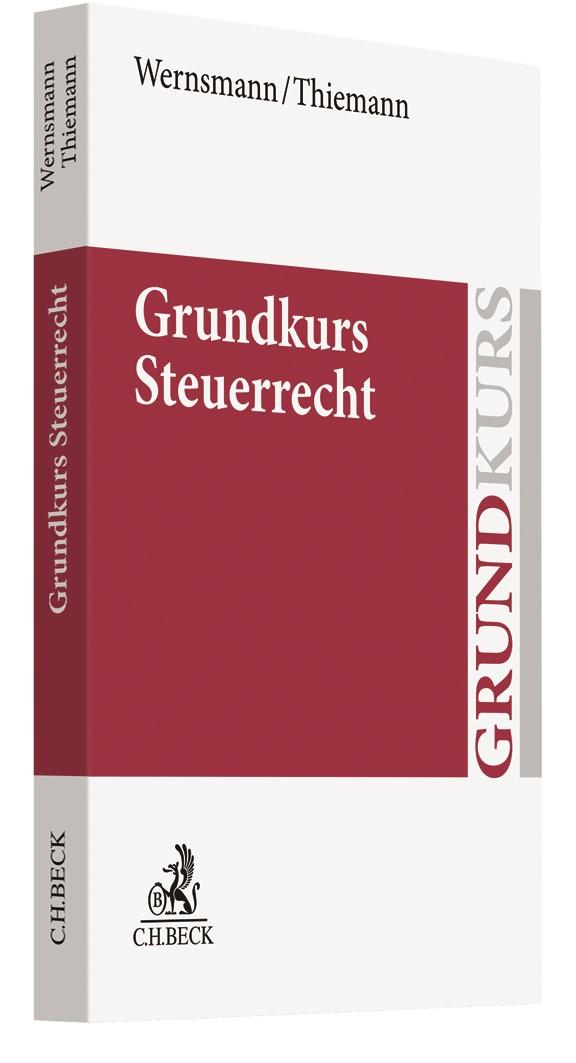 Grundkurs Steuerrecht | Wernsmann / Thiemann, 2018 | Buch (Cover)