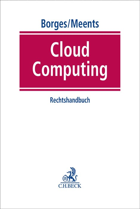 Cloud Computing | Borges / Meents, 2015 | Buch (Cover)