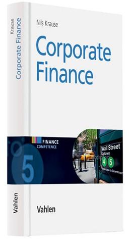 Abbildung von Krause | Corporate Finance | 1. Auflage | 2021 | beck-shop.de