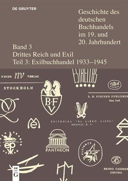 Abbildung von Fischer   Teil 3: Der Buchhandel im deutschsprachigen Exil 1933-1945   1. Auflage   2020   beck-shop.de