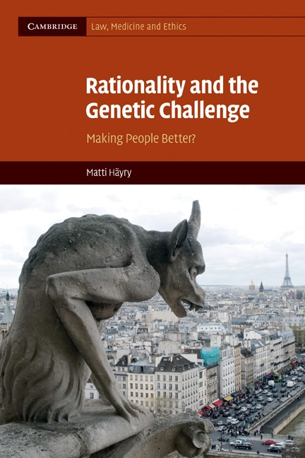 Abbildung von Häyry | Rationality and the Genetic Challenge | 2010