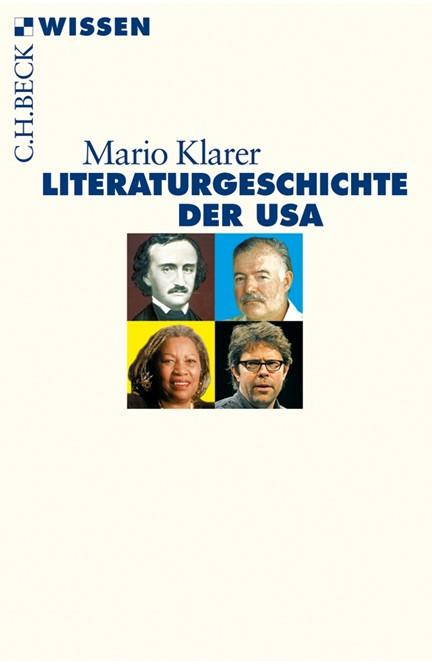 Cover: Mario Klarer, Literaturgeschichte der USA