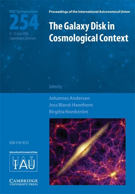 Abbildung von Andersen / Nordström / Bland-Hawthorn | The Galaxy Disk in Cosmological Context (IAU S254) | 2009