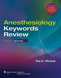 Abbildung von Modak | Anesthesiology Keywords Review | 2012