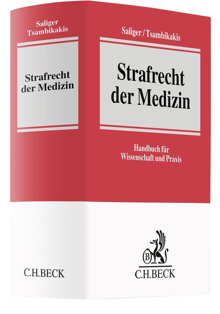 Strafrecht der Medizin | Saliger / Tsambikakis | Buch (Cover)