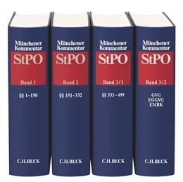 Abbildung von Münchener Kommentar zur Strafprozessordnung: StPO | | Gesamtwerk in 3 Bänden