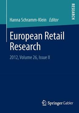 Abbildung von Schramm-Klein   European Retail Research   2013   2013   2012, Volume 26, Issue II