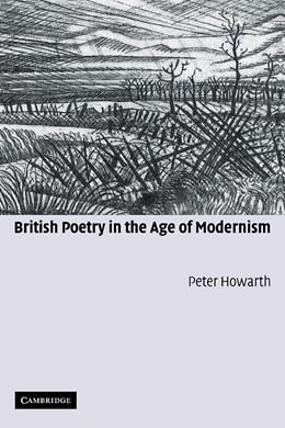 Abbildung von Howarth | British Poetry in the Age of Modernism | 2005