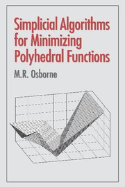 Abbildung von Osborne | Simplicial Algorithms for Minimizing Polyhedral Functions | 2001