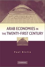 Abbildung von Rivlin | Arab Economies in the Twenty-First Century | 2009