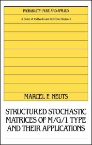 Abbildung von Neuts | Structured Stochastic Matrices of M/G/1 Type and Their Applications | 1989