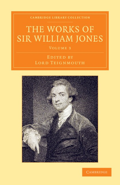 Abbildung von Jones / Teignmouth | The Works of Sir William Jones | 2013