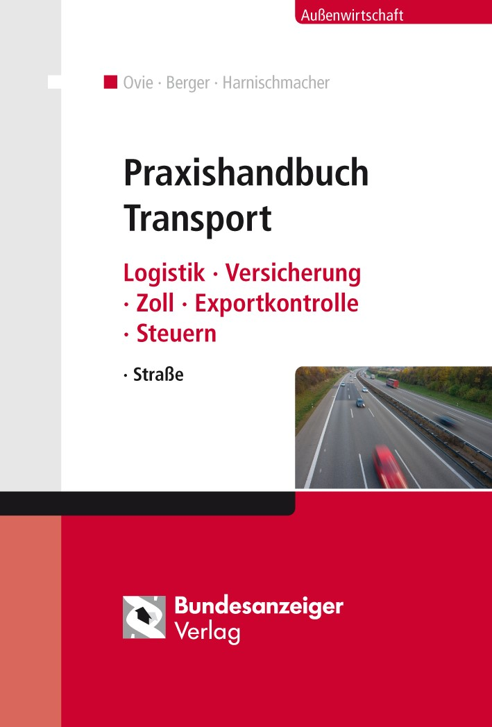 Praxishandbuch Transport | Ovie / Berger / Harnischmacher (Hrsg.), 2014 | Buch (Cover)