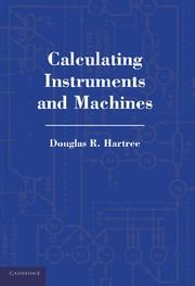 Abbildung von Hartree | Calculating Instruments and Machines | 2012