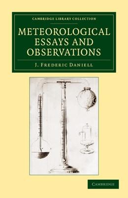 Abbildung von Daniell | Meteorological Essays and Observations | 2013