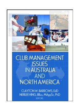 Abbildung von Barrows / Hing | Club Management Issues in Australia and North America | 2006