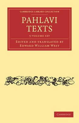 Abbildung von West | Pahlavi Texts 5 Volume Set | 2012