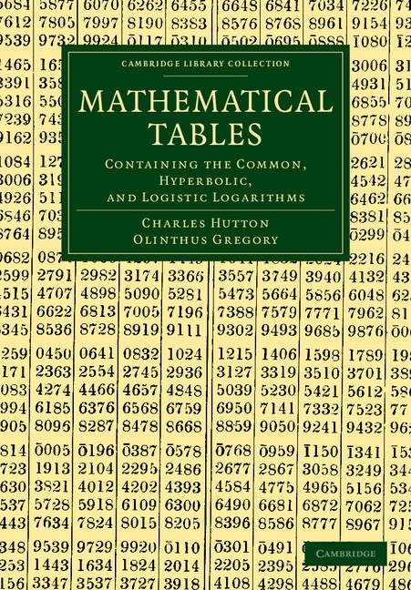 Abbildung von Hutton / Gregory | Mathematical Tables | 2012