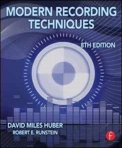 Modern Recording Techniques   Huber / Runstein, 2013 (Cover)