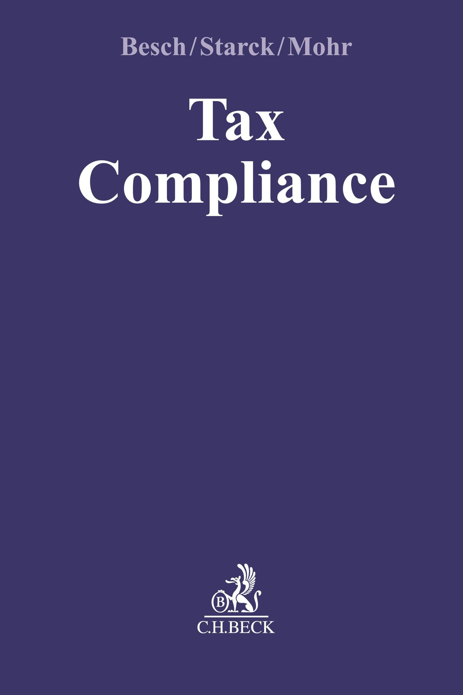 Tax Compliance | Besch / Starck, 2019 | Buch (Cover)