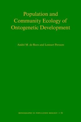 Abbildung von de Roos / Persson   Population and Community Ecology of Ontogenetic Development   2013