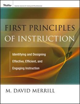 Abbildung von Merrill | First Principles of Instruction | 2012