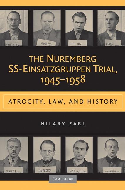 Abbildung von Earl | The Nuremberg SS-Einsatzgruppen Trial, 1945-1958 | 2009