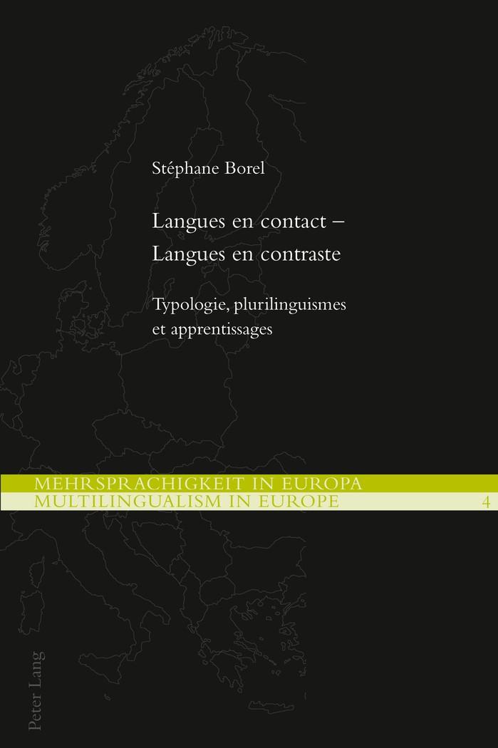Langues en contact – Langues en contraste   Borel, 2012   Buch (Cover)