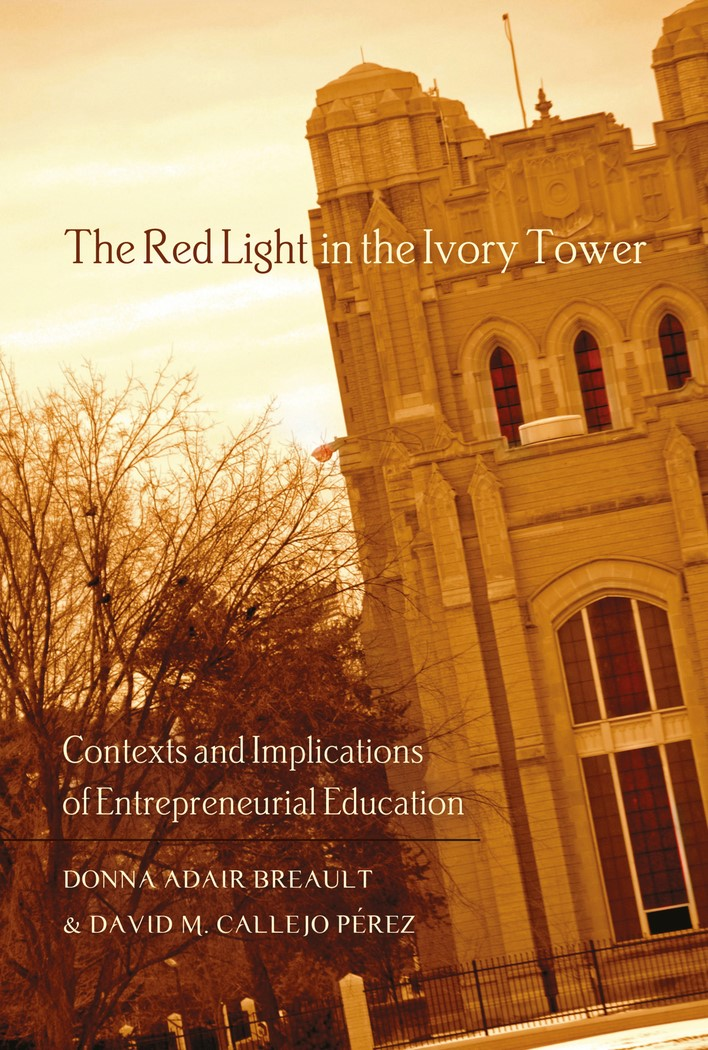 The Red Light in the Ivory Tower | Adair Breault / Callejo Pérez, 2012 | Buch (Cover)