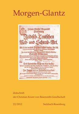 Abbildung von Theisohn / Braungart | Morgen-Glatz 22/2012 | 2012 | Zeitschrift der Christian Knor... | 22