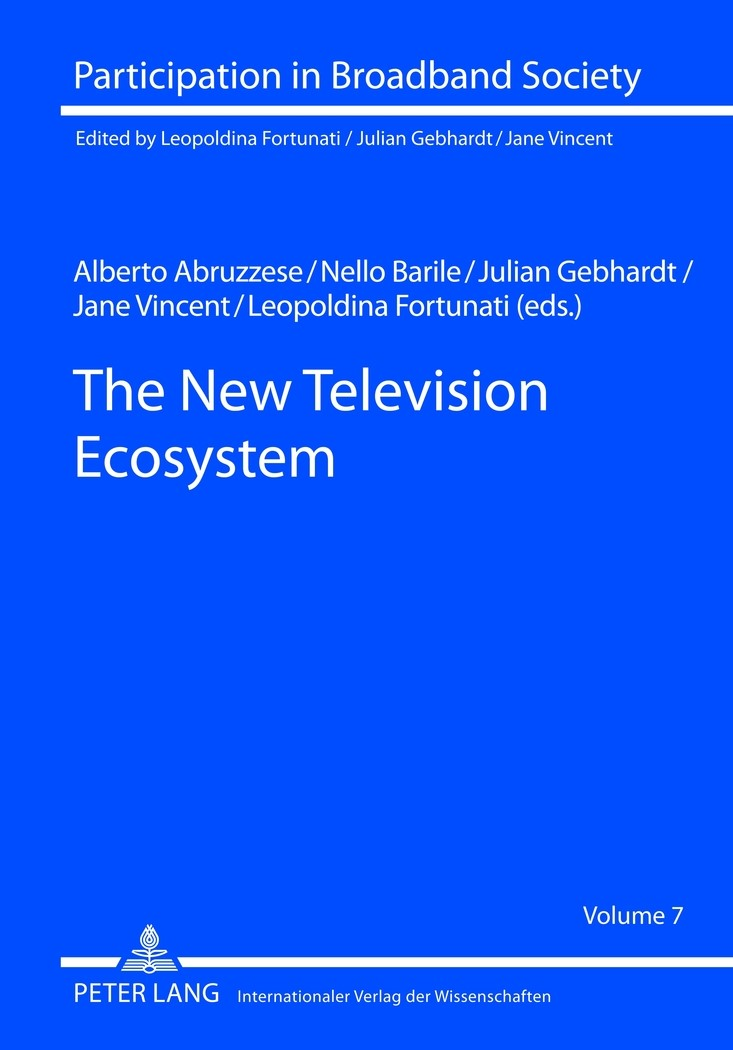 The New Television Ecosystem | Abruzzese / Barile / Gebhardt / Vincent, 2012 | Buch (Cover)