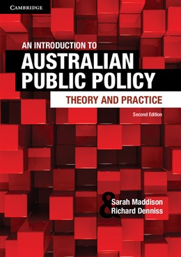 Abbildung von Maddison / Denniss | An Introduction to Australian Public Policy | 2013 | Theory and Practice