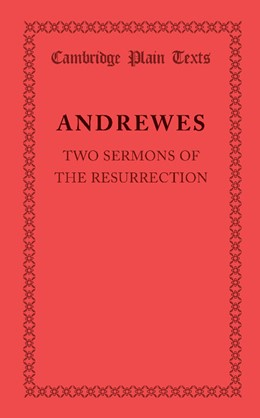Abbildung von Andrewes | Two Sermons of the Resurrection | 2013