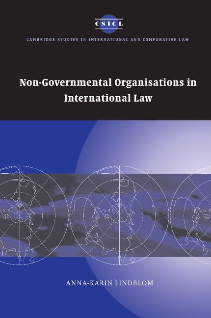 Abbildung von Lindblom   Non-Governmental Organisations in International Law   2013