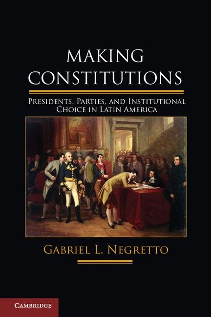 Abbildung von Negretto | Making Constitutions | 2013