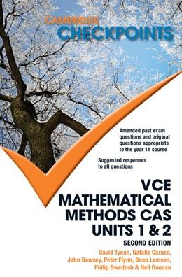Abbildung von Duncan / Tynan / Caruso | Cambridge Checkpoints VCE Mathematical Methods CAS Units 1 and 2 | 2013