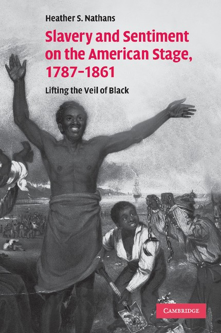 Abbildung von Nathans | Slavery and Sentiment on the American Stage, 1787–1861 | 2013
