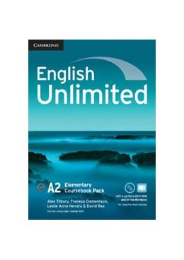 Abbildung von Tilbury / Clementson / Hendra | English Unlimited Elementary Coursebook with e-Portfolio and Online Workbook Pack | 2012