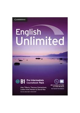 Abbildung von Tilbury / Clementson / Hendra | English Unlimited Pre-intermediate Coursebook with e-Portfolio and Online Workbook Pack | 2012