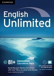 Abbildung von Tilbury / Clementson / Hendra | English Unlimited Intermediate Coursebook with e-Portfolio and Online Workbook Pack | 2012