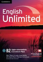 Abbildung von Tilbury / Clementson / Hendra | English Unlimited Upper Intermediate Coursebook with e-Portfolio and Online Workbook Pack | 2012