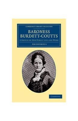 Abbildung von Baroness Burdett-Coutts | 1. Auflage | 2013 | beck-shop.de