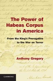 Abbildung von Gregory | The Power of Habeas Corpus in America | 2013