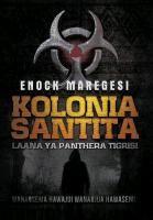 Kolonia Santita: Laana YA Panthera Tigrisi | Maregesi, 2012 | Buch (Cover)